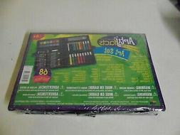 1 PACK OF 68 PIECES PORTABLE ARE STUDIO BY ARTYFACTS ART SET