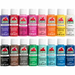 2 oz Apple Barrel Acrylic Paint Set  **Assorted Colors**
