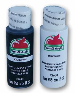 Apple Barrel Acrylic Paint in Assorted Colors , 20504 Black