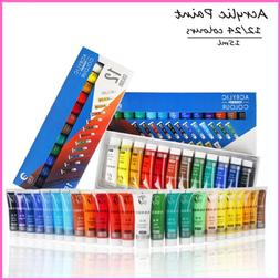 Acrylic Paint Color Set Fabric Clothing Nail Glass Draw Wate