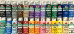 Apple Barrel Acrylic Paint Matte Satin Gloss 2 oz or 8 oz -