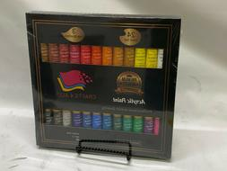 Crafts 4 All Acrylic Paint Set 24 x 12 ml  - NEW