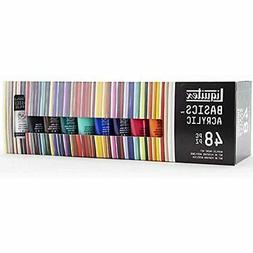 Liquitex BASICS 48 Tube Acrylic Paint Set, Painting, Drawing