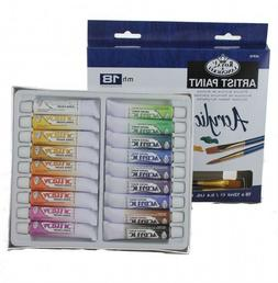 Royal Brush Essentials Acrylic Paint 12ml 18 / P kg - Assort