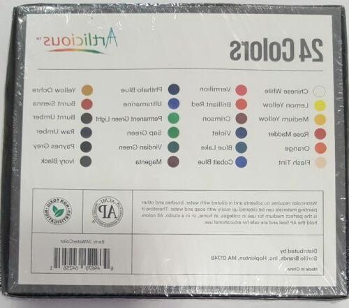 Artlicious - Tube Watercolor Paint Great for & Boards