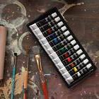 Acrylic Paint Set, Set Of 12 Each tube is filled with 12 mL