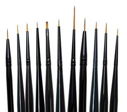 Royal Langnickel Paint Brush Set 11pc MAJESTIC DETAIL Artist