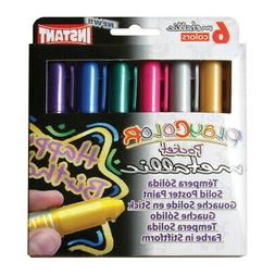playcolor thin solid tempera assorted metallic color